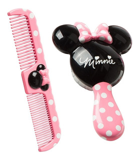 Set Combo Cepillo Y Peine Minnie Mouse Disney Safety 1st