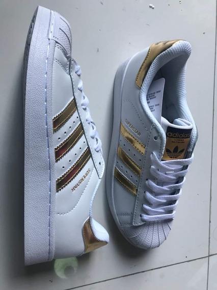 Zapatos Deportivos adidas Super Star. Aa A