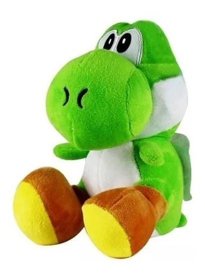 Yoshi De Pelucia 18x10 Cms Jogo Mario World Mario Bros