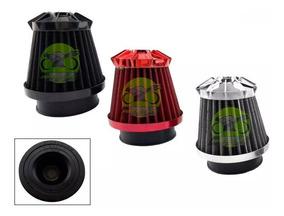 Filtro Ar Esportivo 50mm Cb300 Xre 300 Next 250 Intruder 125