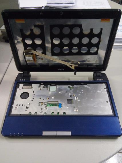 Carcaça Notebook Acer Aspire 1410 Com Cooler + Cabo