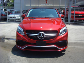Mercedes-benz Clase Gle 5.5l Coupe 63 Amg At 2017 Rojo
