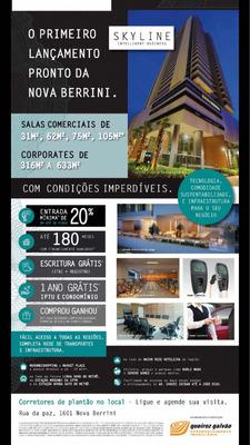 Sala Comercial Nova Berrini