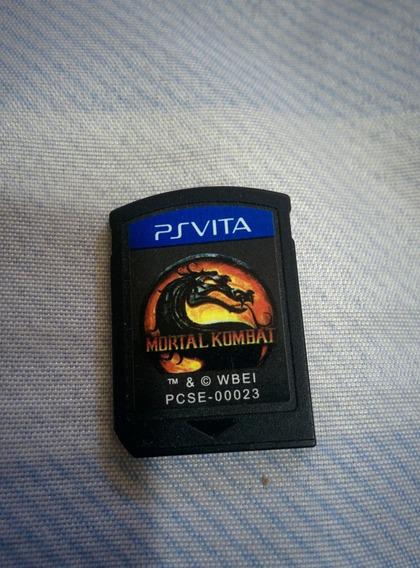 Mortal Kombat Ps Vita Pouco Usado Sem Capa E Manual + 100%