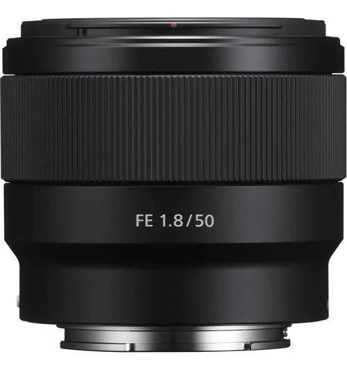 Lente Sony Fe 50mm F/1.8 Garantia