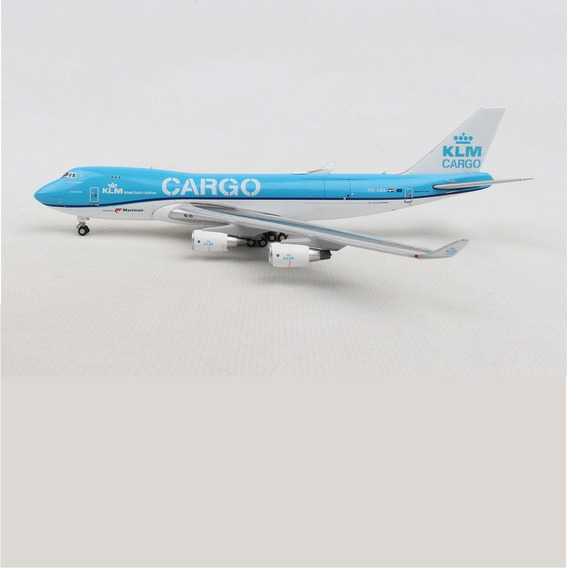 Miniatura Avião Klm Cargo 747-400 1/400 Gemini