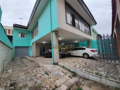Sobrado Com 3 Dormitórios À Venda, 400 M² Por R$ 1.590.000,00 - Tatuapé - São Paulo/sp - So1526