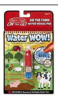 Pinta Con Agua Animales Water Wow Melissa And Doug
