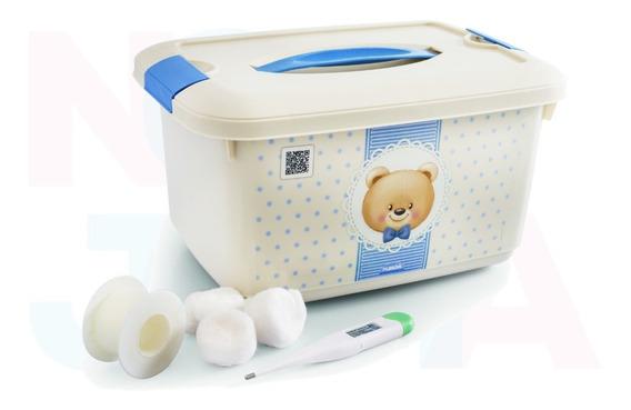 Caixa Organizadora Urso Da Plasutil