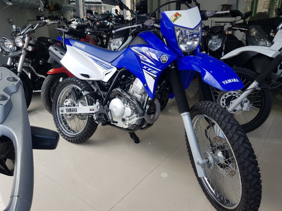 Yamaha Xtz 250 Lander 2018 Azul 20000 Km