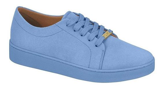 Tênis Feminino Vizzano Casual Camurça Color Jeans 1214205