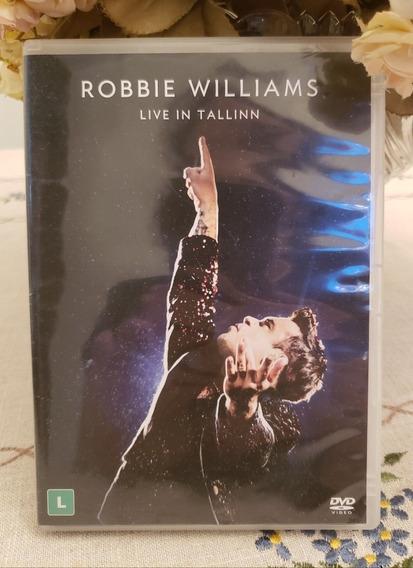 Dvd Musical Robbie Williams Live In Tallinn