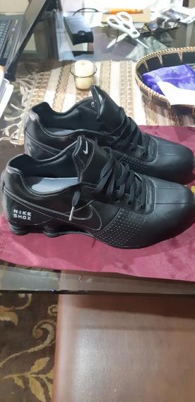 Tênis Nike Shox Preto Original Tamanho 12us 43/44 Novo