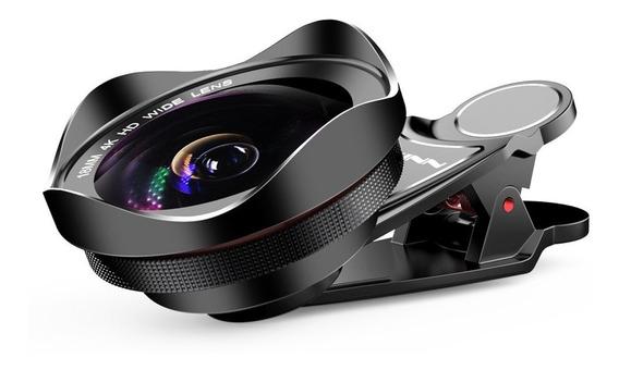 Hd Grande Angular 18mm Profissional Óptico 4k Distorção Livr