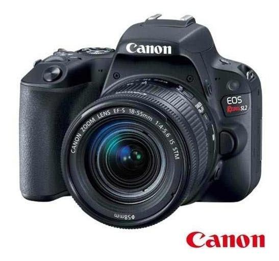 Câmera Digital Canon Eos Rebel Sl2 - Nota Fiscal + Garantia