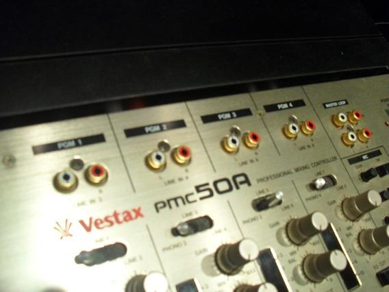 Mixer Vestax Pmc 50a + Knob Incluso