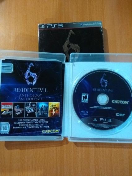 Jogo Resident Evil 6 Em 1 Original