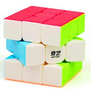 Cubo Rubik Qiyi W 3x3 Stickerless