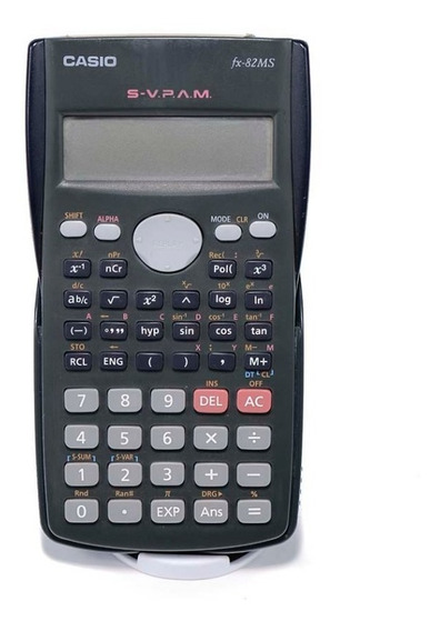 Calculadora Científica Casio Sv Pam Fx82ms