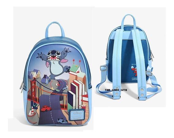 Mochila De Stitch Mini Backpack Loungefly X Disney