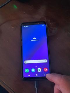 Samsung Galaxy S9 Negro 64 Gb Detalle Con Pantalla