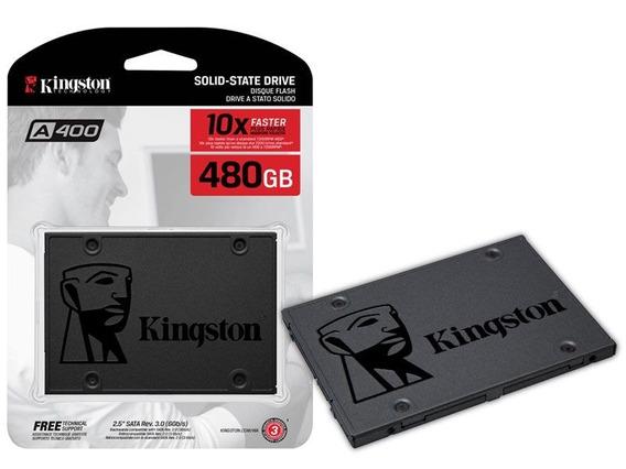 Ssd Kingston 480gb 2.5 Até 500mb/s P/ Leitura E 350mb/s Gra