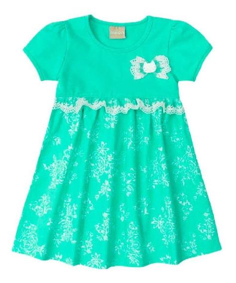 Vestido Infantil Milon Verde