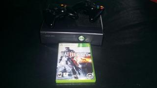 Xbox 360 Lt3.0 Con 2 Dos Joystick Originales Y 5 Juegos