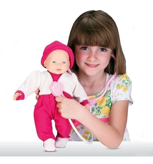 Boneca Dra Bell Brincar De Medica Com Acessórios - Omg Kids