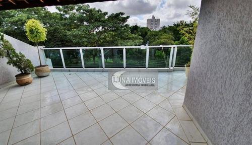 Imagem 1 de 30 de Sobrado Com 4 Dormitórios À Venda, 283 M² Por R$ 954.000,00 - Jardim Hollywood - São Bernardo Do Campo/sp - So0637
