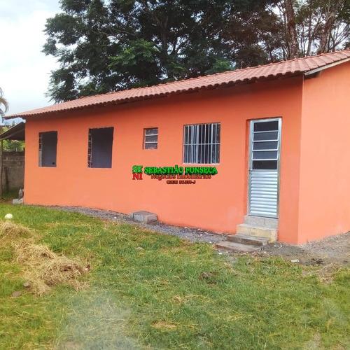 Casa Com 02 Dormitórios No Bairro Do Buquirinha - 1898