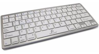 Teclado Bluetooth Celular Pc iPad Español Ergonomico /e