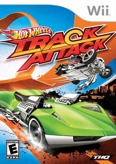Jogo Hot Wheels Track Attack Nintendo Wii Mídia Física Game