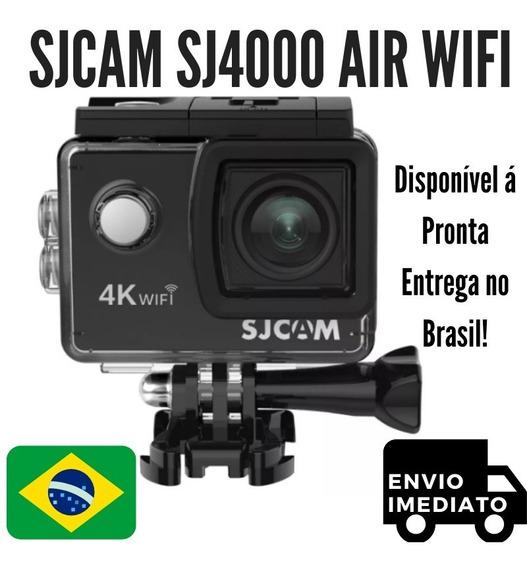 Câmera De Ação Sjcam Sj4000 Air Wifi Wi-fi Envio Imediato!