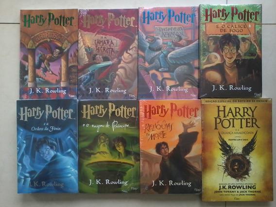 Livro Coleçao Harry Potter (8 Livros) Ed. Normal