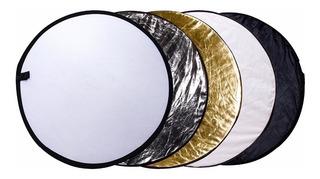 Disco Reflector Flex 5 En 1 De 80cm Con Estuche