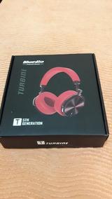 Headphone Bluedio T5 Vermelho E Preto Usado