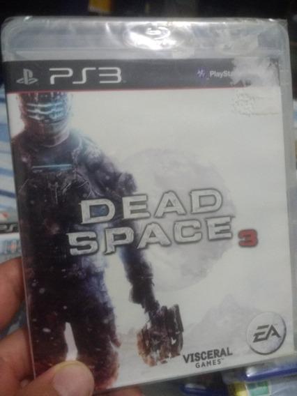 Dead Space 3 De Ps3 Jogo Lacrado