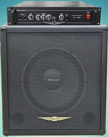 Cabeçote Oneal 300 Watts Rms Ocb1000h + Caixa Oneal Obs115