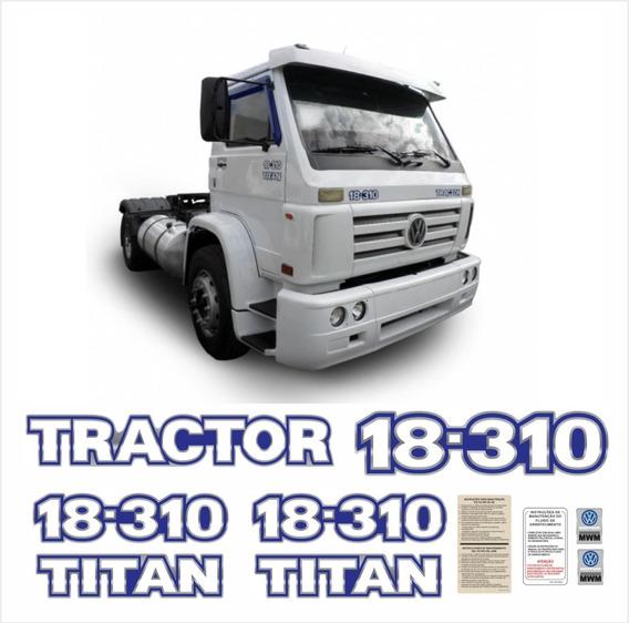 Adesivo Volkswagen 18-310 Tractor Titan Caminhão Cmk89 Fgc