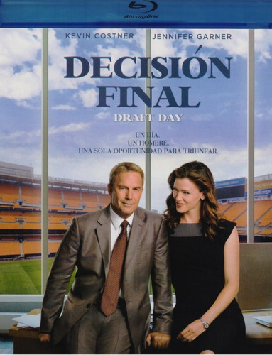 Decision Final Draft Day Kevin Costner Pelicula Blu-ray