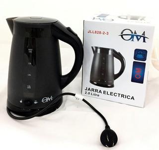Jarra Pava Electrica 2litros Con Corte Para Mate 2000w Lanus