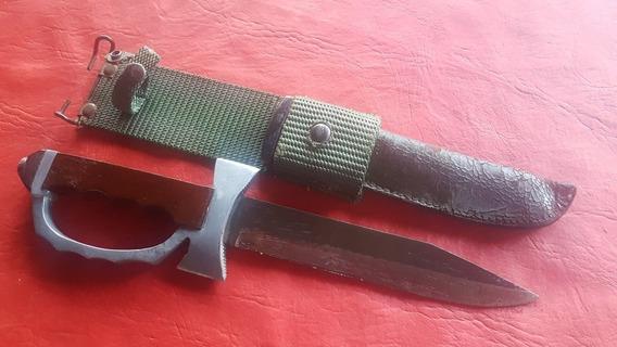 Cuchillo Paracaidista Erizo 1°modelo Argentino Sable.