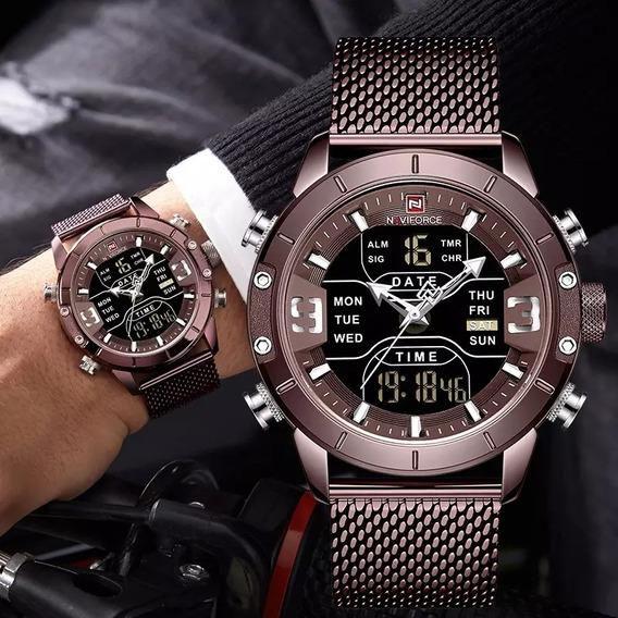 Relógio Naviforce De Luxo , 100% Original