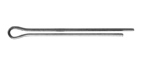 Contra Pino Cupilha Aluminio 2x20mm Base Lustres 100 Peças