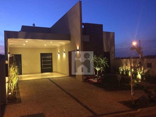 Imagem 1 de 17 de Casa Com 3 Dormitórios À Venda, 150 M² Por R$ 665.000,01 - Condomínio San Marco - Ribeirão Preto/sp - Ca0616