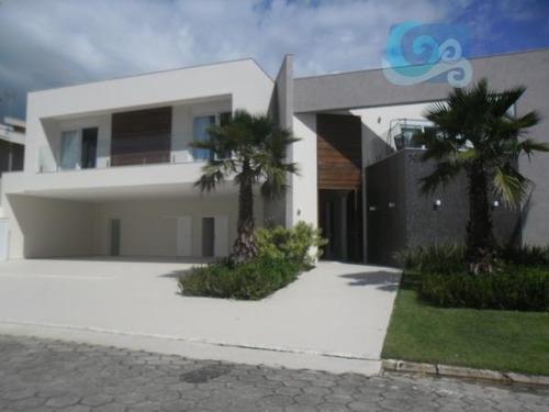 Imagem 1 de 30 de Casa No Condomínio Jardim Acapulco - Guarujá - Ca1322