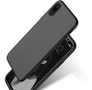 Protector Funda Mate Para iPhone X + Cristal Templado