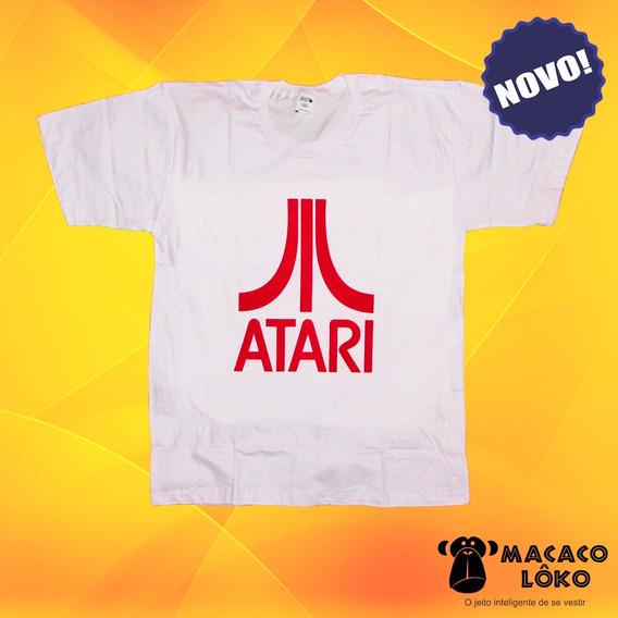 Camiseta Masculina Atari 100% Algodão