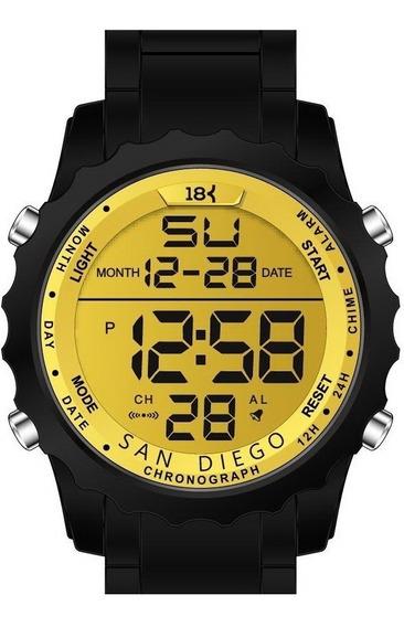 Relogio 18k Watches San Diego Original Frete Grátis